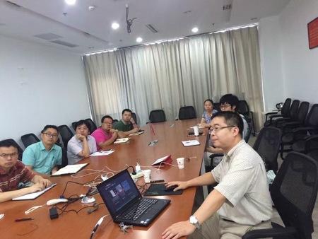 柏慕中国董事长黄亚斌先生参加武汉中南院BIM交流
