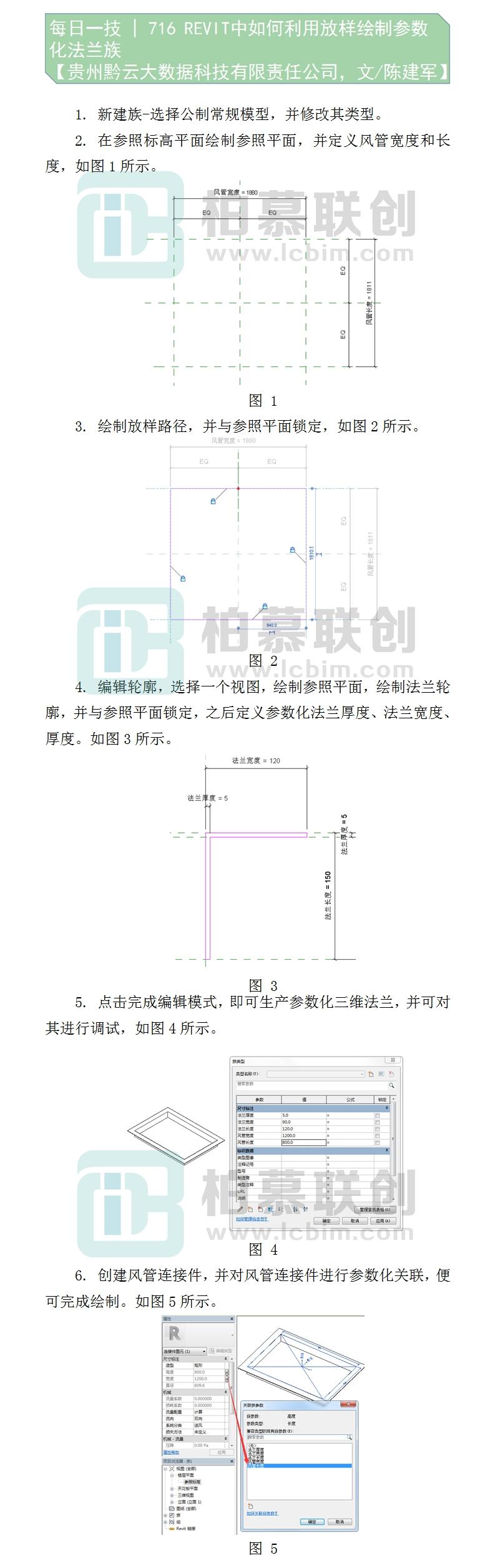 716     REVIT中如何利用放样绘制参数化法兰族--陈建军-贵州黔云大数据科技有限责任公司.jpg