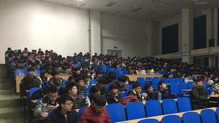 柏慕联创技术经理胡林老师回母校华航做报告(一)